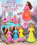 FLASH PRINCES DOLLY 10g Balenie:6ks x 10display